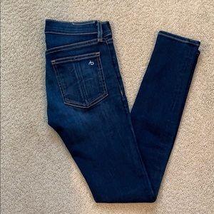 Rag & Bone skinny jeans.